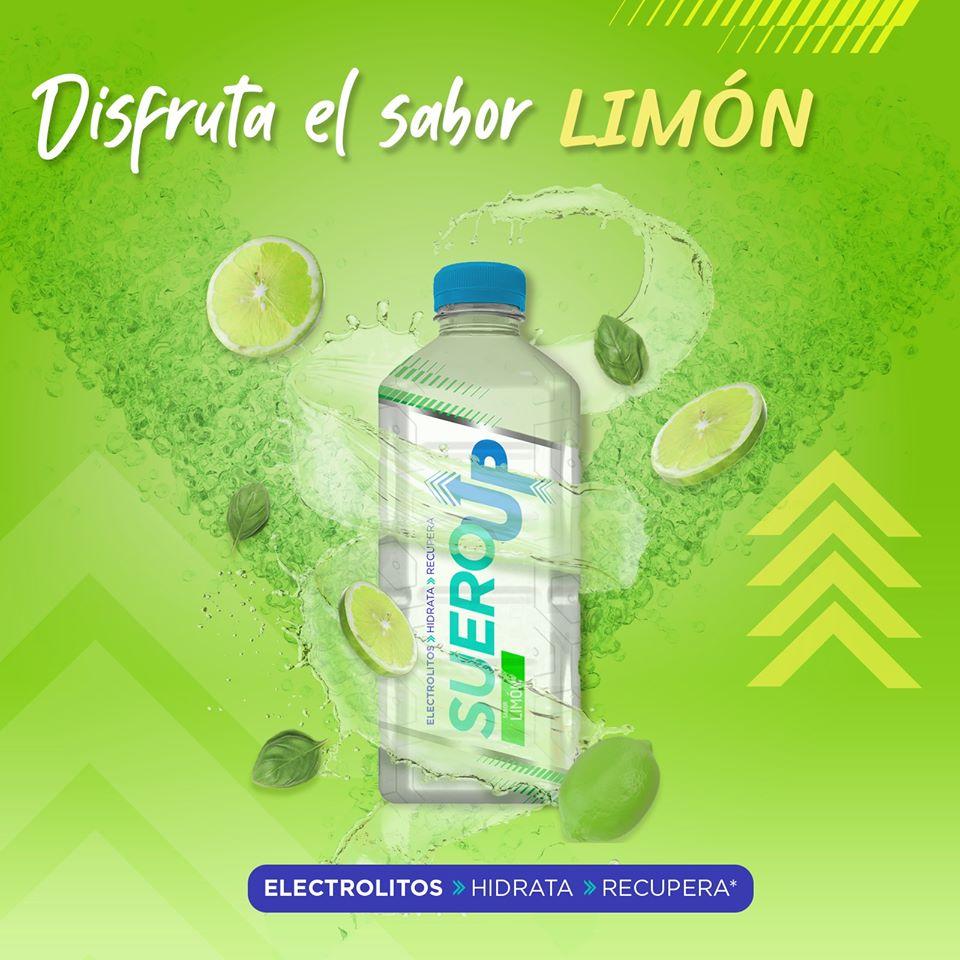 SueroUp sabor limón
